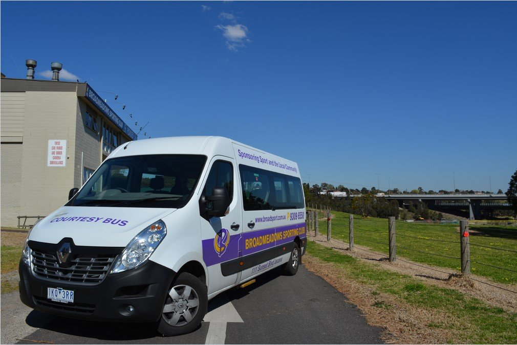 Broadmeadows Sporting Club Van